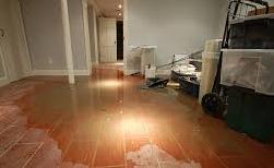Soaked Floor