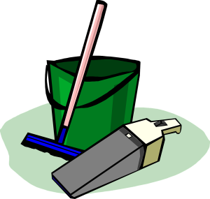 Cleaning tools graphic