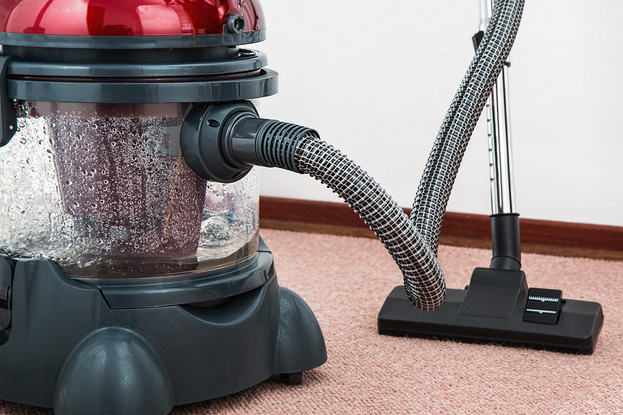 a big vacuum cleaner